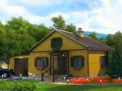 Дом для семьи бывшего военного.