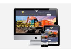 Корпоративный сайт tsnab66.ru