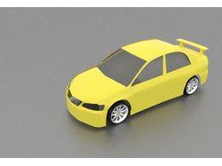 3д модель автомобиля 2014г