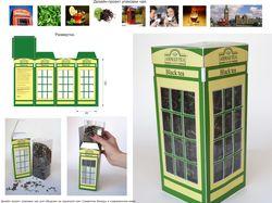Дизайн упаковки чая.