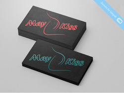 "Логотип интим-социальной сети ""MayKiss"""