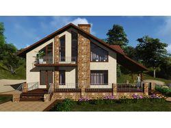 3Д моделирование, визуализация дома