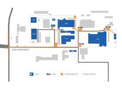 Карта проезда по территории завода