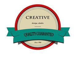 ретро логотип