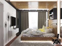 Двухкомнатная квартира для молодой пары