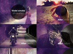 Обработка фото:  наложение эффектов.