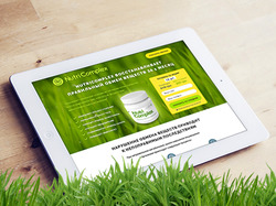 Nutricomplex Landing Page