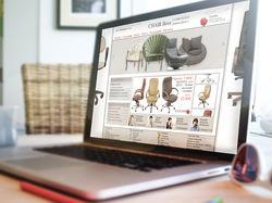 Интернет-магазин продажи стульев и кресел