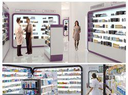 Концепция дизайна аптечной сети.