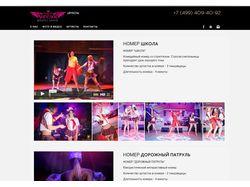 Наполнения сайта eashow.ru CMS MODX