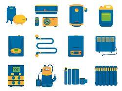 Иконки для интернет-магазина климатической техники
