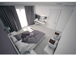 Дизайн спальни загородного дома в г.Гомель