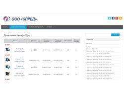 """Наполнение контентом сайта ООО """"Спред"""" spred116.ru"""