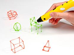 Лендинг по продаже 3D ручек и комплектующих
