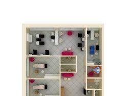 Планировки жилых и общественных помещений