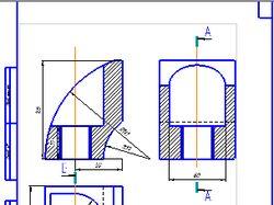 Чертежи и 3-D модели в среде Компас
