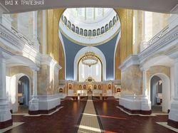 """Дипломный проект """"Проект интерьеров церкви"""""""