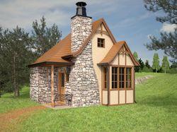 Охотничий домик. Tudor style