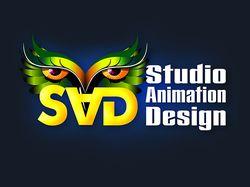 Логотип для студии анимационного дизайна