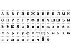 Руссификация шрифтов