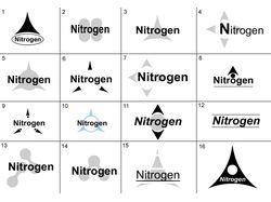 Логотипы нитроген
