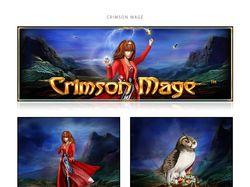 Crimson Mage /casino game/