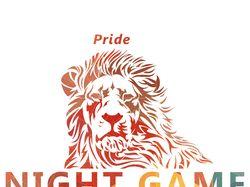 Разработка логотипа Night Game