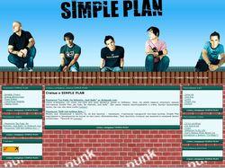 Сайт группы SIMPLE PLAN