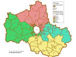 Геомаркетинговые исследования в Московской области