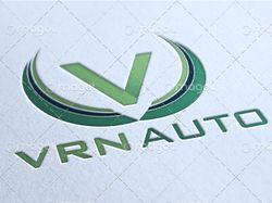 Логотип:VRN AUTO[Векторная графика]