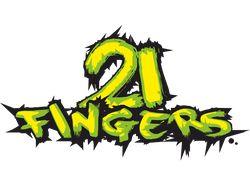 Логотип:21 FINGERS[Векторная графика]