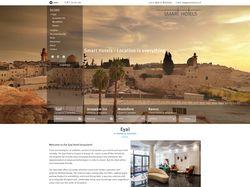 Лендинг гостиницы в Израиле