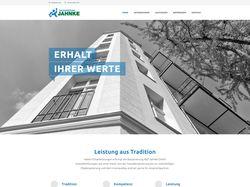 Сайт для строительной фирмы.