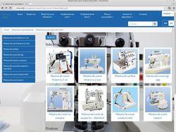 Каталог интернет магазина швейных машин