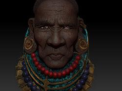 Мужчина Туркана 3D