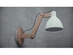 Настенная 3D лампа