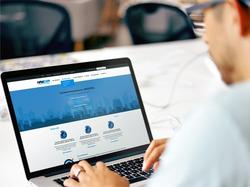 Дизайн сайта охранной компании Navicom
