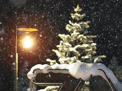 Зимний набросок (изучаю Cinema 4d)