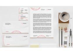 Фирменный стиль (логотип, бланк, визитки,конверты)