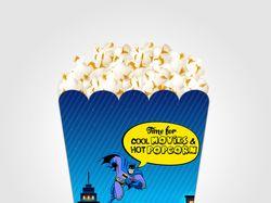 Дизайн упаковки для попкорна