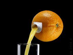 100% натуральный апельсиновый сок