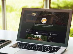Сайт компании AVD строй