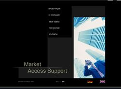 Market Access Support