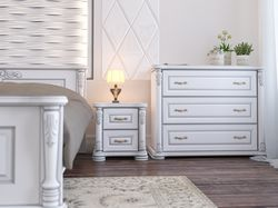 Моделинг мебели и визуализация спальни.