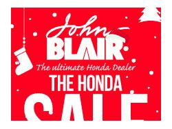 HTML5 баннер для дилера Honda John Blair
