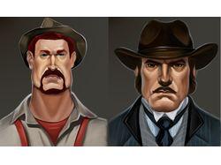 Иконки персонажей. Портреты