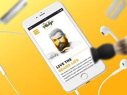 Сайт BeardOilPledge
