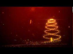 Новогодняя анимация логотипа для ТВ
