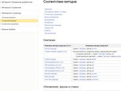Перевод скрипта с 4 версии API Директа на версию 5