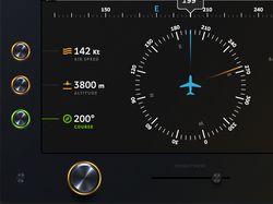 Концепт интерфейса основного авиа-дисплея